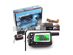 ALARME MOTO ALARME SCOOTER ALARME QUAD EXTREME 3 ANTI SOULEVEMENT CHOC CONTACT 2 TELECOMMANDES LCD : ALARM-DISCOUNT.COM