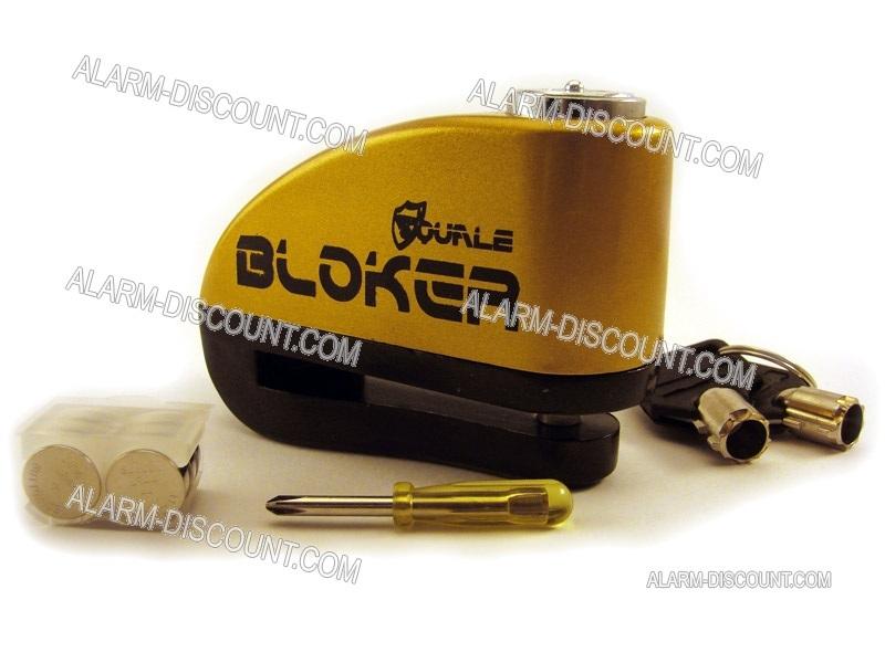 alarme moto  bloque disque bloker