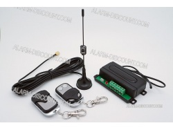 COMMANDE DISTANCE PORTAIL GARAGE 12V 24V CODE TOURNANT TELECOMMANDE