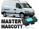 Clé de désactivation d'anti démarrage pour Renault Master 2 phase 1