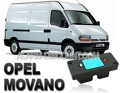Clé de désactivation d'anti démarrage pour Opel movano 1ère génération