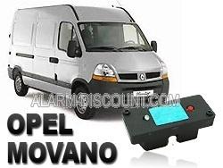 Clé de désactivation d'anti démarrage pour Opel Movano phase 2 jusqu'à 2006