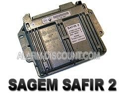 Désactive l'anti démarrage calculateur renault SAGEM SAFIR 2