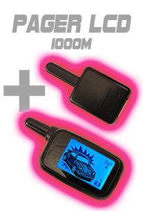 Pager LCD pour alarme COBRA 4615