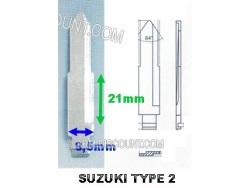 AMORCE CLE SUZUKI MITSUBISHI INSERT CLE SUZUKI CLE TELECOMMANDE SUZUKI : ALARM-DISCOUNT.COM
