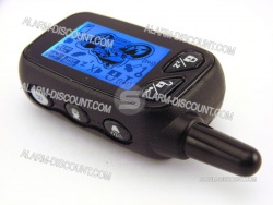 TELECOMMANDE ALARME MOTO EXTREME 4 PAGER LCD