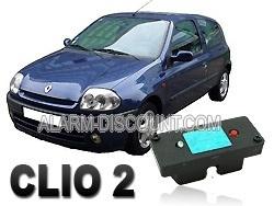 Clé de désactivation d'anti démarrage pour Renault clio 2 de 1995 à 2001