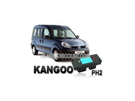 Clé de désactivation d'anti démarrage pour Renault Kangoo phase 2 de 2003 à 2006