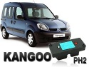 Clé de désactivation d'anti démarrage pour Renault Kangoo phase 2 jusqu'à 2006