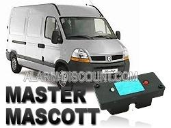 Clé de désactivation d'anti démarrage pour Renault MASTER II phase 2 de 2002 à 2006