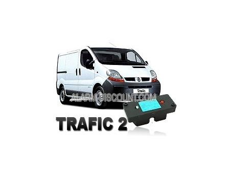 Clé de désactivation d'anti démarrage pour Renault Trafic 2 phase 1 de 2000 à 2006