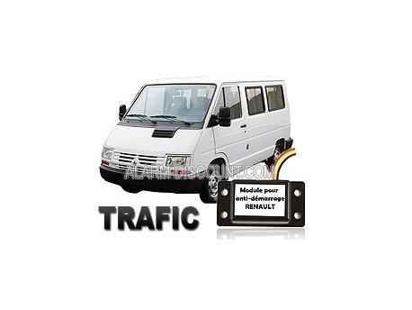 Clé de désactivation d'anti démarrage pour Renault Trafic 1 de 1994 à 2000