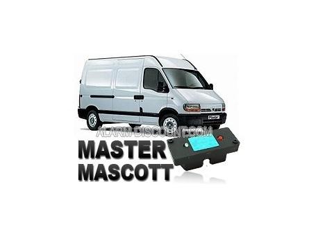 Clé de désactivation d'anti démarrage pour Renault Master de 1996 à 2003