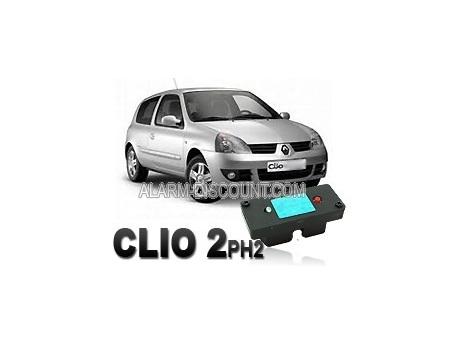 Clé de désactivation d'anti démarrage pour Renault clio 2 de 2001 à 2006