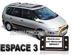 Module de désactivation d'anti démarrage pour Renault Espace 3