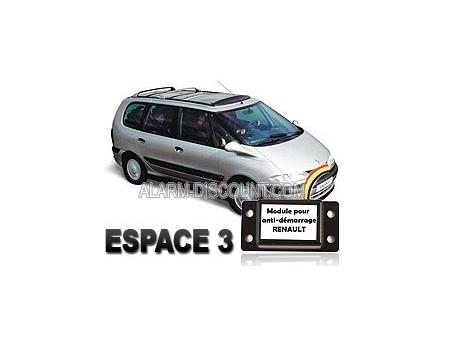 Module de désactivation d'anti démarrage pour Renault Espace 3 de 1999 à 2003