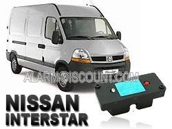Clé de désactivation d'anti démarrage pour Nissan Interstar phase 2 jusqu'à 2006