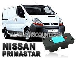 Clé de désactivation d'anti démarrage pour Nissan primastar jusqu'à 2006