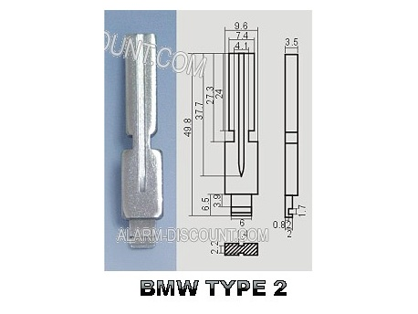 AMORCE CLE BMW INSERT CLE BMW CLE TELECOMMANDE BMW : ALARM-DISCOUNT.COM