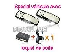 Kit centralisation universelle Lexus CLAPET + 1 moteur