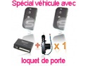 Kit centralisation universelle Peugeot SLIM + 1 moteur