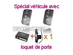 Kit centralisation universelle Renault SLIM + 1 moteur