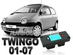 Clé de désactivation d'anti démarrage pour Renault Twingo 1 à partir de 2001
