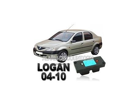 Clé de désactivation d'anti démarrage pour Dacia Logan de 2004 à 2010