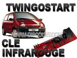 TWINGOSTART désactivation d'anti démarrage Renault Twingo à infrarouge